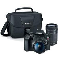 Canon EOS Rebel T7 DSLR Camera + 18-55mm + 55-250mm IS STM Lens +  Canon Case