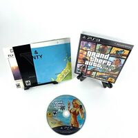 Grand Theft Auto V (PlayStation 3, 2013) PS3 Tested Complete w/ Map Free Ship