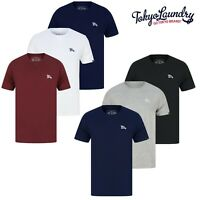Men's Tokyo Laundry T-Shirt 3 Pack Cotton Short Sleeve Crew neck T-Shirt New