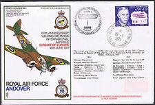 60th aniversario 1st larga distancia Int. Air Race-RAF Andover - 18th de junio de 1971