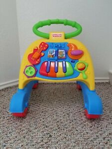 Fisher Price Brilliant Basics Musical Activity Walker Jazz