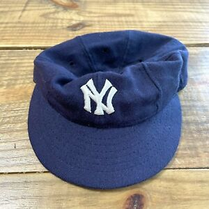 Roman pro NY Yankees MLB cooperstown collection cap rare vintage 7 3/8