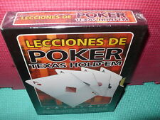 LECCIONES DE POKER - 4 DVDS  -  NUEVA
