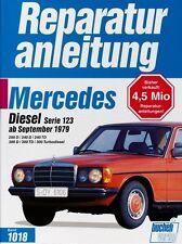 Mercedes Benz 200 240 300 w123 Reparaturanleitung Reparatur-Handbuch Wartung