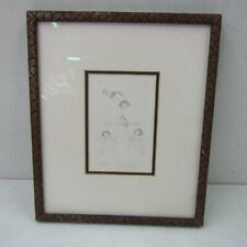 CHARLES BRAGG ETCHING INHUMAN PYRAMID NUDE WOMEN MAN LIMITED EDITION SIGNED COA