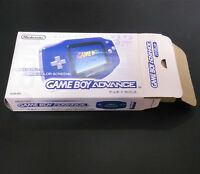 Blue Console Box Package For Nintendo Game Boy Advance GBA