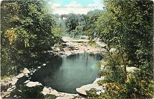 A View of the Pool Below the Dam, Canajoharie NY 1909