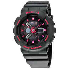 Casio Baby-G Analog-Digital Display Black Dial Ladies Watch  BA-111-1ACR