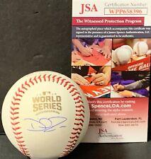 David Ross Chicago Cubs Signed 2016 World Series Baseball JSA WITNESS COA