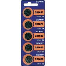 Piles Lithium Cr1620 Sony 3v (paquet de 5)