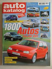 auto katalog Modelljahr 1998 Nr. 41 - Vereinigte Motor-Verlage GmbH, 308 Seiten