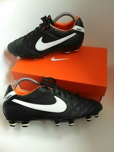Nike tiempo mens football boots size 8 gr8 style leather professionals premier