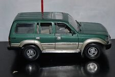 Road Legends 1992 Toyota Land Cruiser Green & Silver 1:18 Diecast