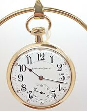 Burlington Special Size 16 Pocket Watch 19 Jewels in B&B Royal Case 1908 12A