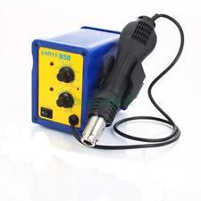 858 Hot Air Gun SMD Electric Rework Soldering Station Desoldering Tools Kit 110V