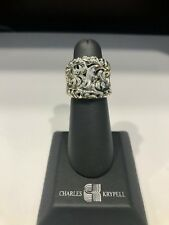 CHARLES KRYPELL SILVER RING