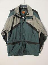S7466 Boulder Lite Gear Adult Large Green/Tan 7 Pocket Vented Ski Jacket Shell