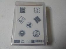 STAMPIN UP CIAO BABY WOOD MOUNTED STAMP SET NEW A4393