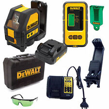 Dewalt Construction Laser Line Green dce088d1g 10,8 V in Case Receiver