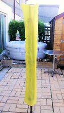 ROTARY WASHING LINE COVER YELLOW HOMEMADE LARGE SIZE