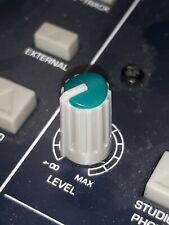 Behringer Xenyx 1002 Pmp5000 Mixer Blue Eq High Mid Low Knob Fits Mackie