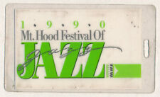 Mt. Hood Jazz Festival _Rare 1990 Backstage Laminate Pass Oregon - Larry Carlton