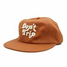 Official Mac Miller Don't Trip Hat Burnt Orange Rust color