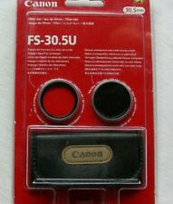 NEW.  Canon FS-30.5U Filter Set. MC protector & ND8 filter. Made in Japan.