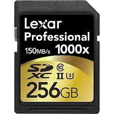 Memoria Lexar tarjeta SD 256gb Clase10 1000X Uhs2