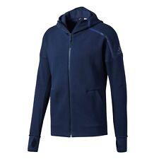 Abrigos y chaquetas de hombre azul adidas de poliéster