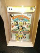 Wonder Woman #1 (Feb 1987, DC) CGC 9.2 signed by artist George Perez