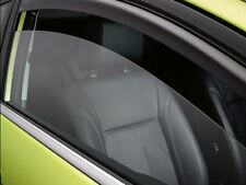 Genuine Ford Fiesta Wind Deflectors - Light Grey for 3 door models. (1555757)