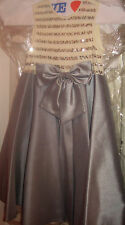 Youth~Girl~Dress~Silver~Ivory color block~Sequince Top~Front Bow~Sz 6X~Pretty!