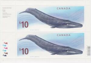 Canada 2010 pane 2405 - Blue Whale MNH