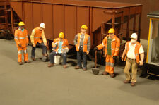 New  O SCALE Bachmann SIX MAINTENANCE / Construction Workers Scene Scapes