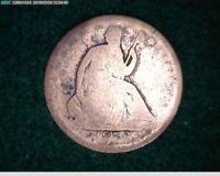 1856  Seated Liberty Half Dollar 50c ( 29s161 )