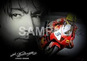 "Joey Dunlop Poster Print Tribute Honda SP1 ""NEW"""