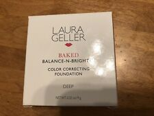 Laura Geller Sand Baked Balance-N-Brighten Foundation .32 OZ. Full Size NIB