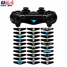 30 x Custom Led Light Bar Covers Stickers Skin for Sony PS4 Pro Slim Controller