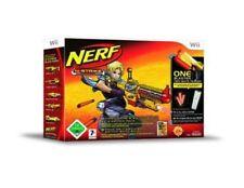 Nintendo Wii Spiel Nerf-N-Strike Bundle inkl. SWITCH SHOT EX-3 Blaster NEU