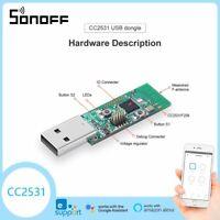 SONOFF ZigBee CC2531 USB Dongle Sniffer Board Packet Protocol Analyzer Module
