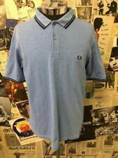 Fred Perry Blue Casual Shirts & Tops for Men