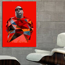 Poster Mural Biggie Notorious BIG Rap Hip Hop 35x47 inch (90x120 cm) on Canvas