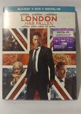 London Has Fallen (Blu-ray/DVD, 2016, 2-Disc Set)  Brand New +DIGITAL HD