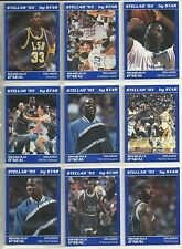 Shaquille O'Neal 1992-93 1993 Star Company Stellar Magic 9-card RC NBA Set /500