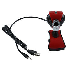 Webcam USB 12 Mega Pixels avec Microphone/Snapshot/6 led/clip Pour portable   WT