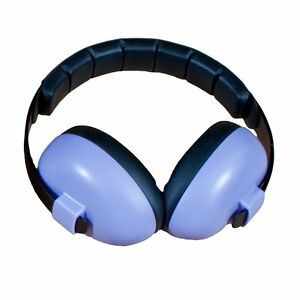 Baby Banz earBanZ Infant Hearing Protection, Purple, 3M+