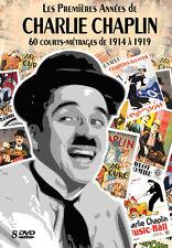 Coffret 8 DVD Charlie Chaplin : 60 Courts-métrages / 1914 - 1919