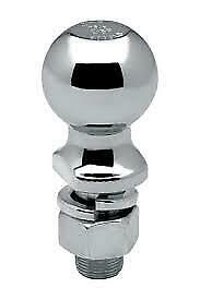 """DRAW-TITE CHROME TRAILER HITCH BALL 2 5/16"""" X 2 1/8"""" 7500 LB RATING 63908 TOWING"""