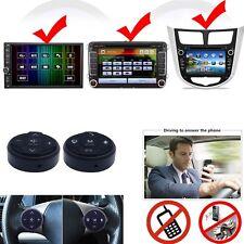 Voiture noire volant télécommande sans fil pour Navigation Gps Cd Dvd